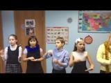 Evgeniya Salavatovna and her group with the song