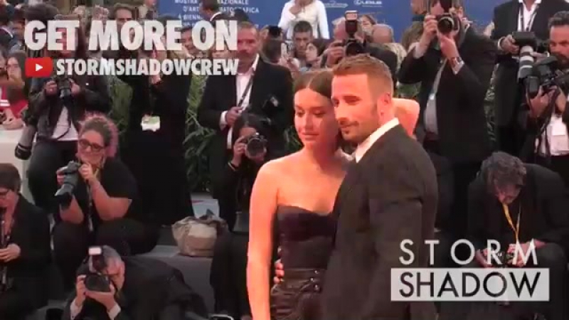 Adele Exarchopoulos and Matthias Schoenaerts on the red carpet of Le Fidele film