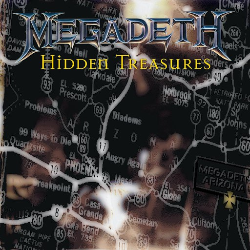 Megadeth альбом Hidden Treasures (Deluxe)