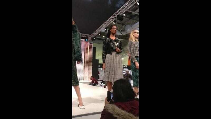 Модный показ в NEC Birmingham