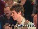 Пойми меня НТВ 01 05 1999 Стихийное бедствие Театр Сопричастность