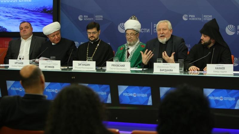 Священнослужители о поездке в Сирию