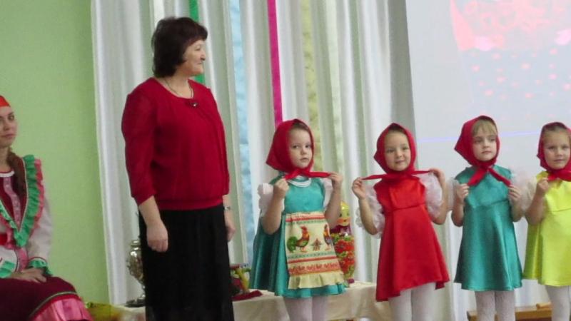 MVI 1492Мастер класс Русский сувенир в 95 детском саду г Омска