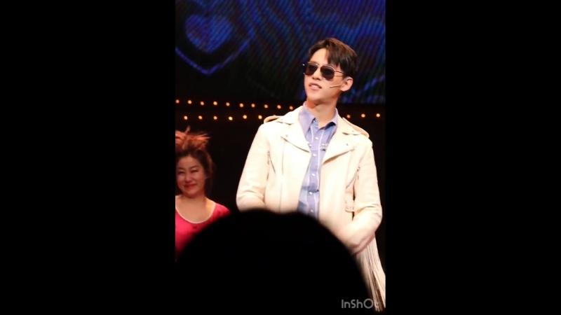 [FANCAM] [10.02.18] Мюзикл 'All Shook Up'