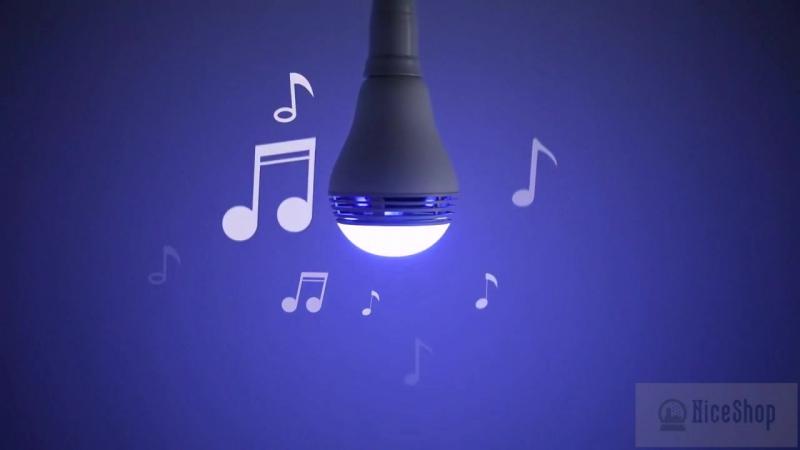 Умная лампочка Vivitar Speaker Smart Bubl