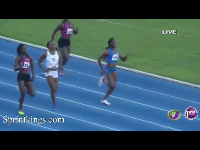 Women's 400m Finals   Jamaica National Trials 2017