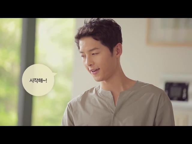 MAKING OF: 송중기(Song Joong-Ki) 쿠첸(CUCHEN) CF 5