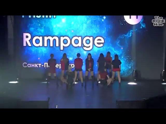 Intro PRISTIN - Black Widow dance cover by Rampage