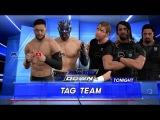 WFW SmackDown Straight Edge Society vs The Shield