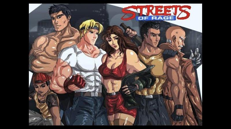 SMD Streets of Rage 2 Syndicate Wars Modhack by Gsaurus и SoR2 BKIII Bosses Hack by Kratus Roket Savokgear