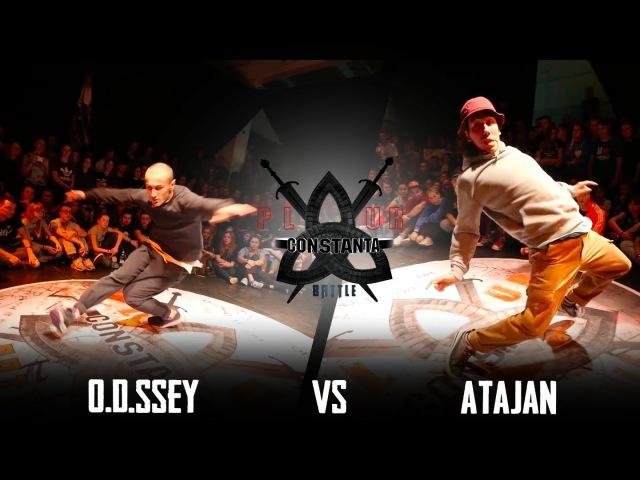 P.L.U.R.BATTLE CONSTANTA 2015|HIP-HOP 1/8 1X1|ATAJAN(win) VS O.D.SSEY