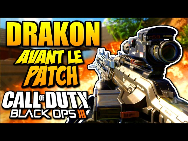 Call of duty Black Ops 3 : DRAKON Gameplay AVANT PATCH