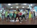 Yotakara dancehall - female class - beginners group