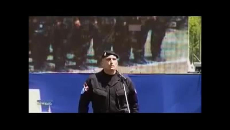 Заклетва српске жандармерије Видовдан 2012