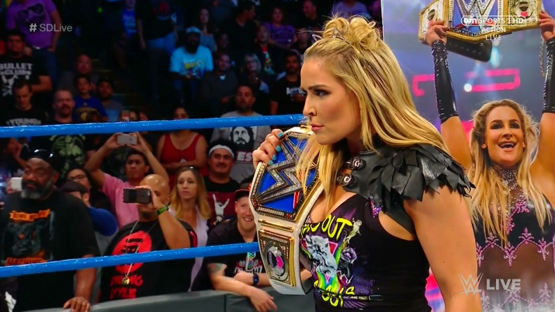 Charlotte Flair vs. Becky Lynch vs. Naomi vs. Tamina – Winner faces Natalya for the SmackDown Women's Title at WWE Hell in a Cel