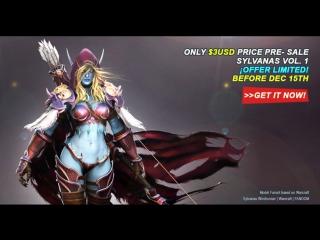 3D modeling course Premium | Sylvanas vol. 1 | Only $3USD Price Pre- sale