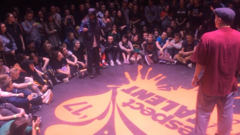 Dam'en vs Icee(win) 1/2 hip-hop pro round 1