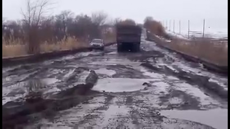 Украинские дороги. Покращення от Гройсмана.