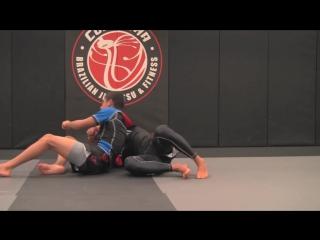 kimura from knee slide pass to armbar