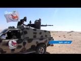 Видео-кадры контратаки Сирийской армии и сил Национальной обороны на нападение Daesh на деревню аш-Шула