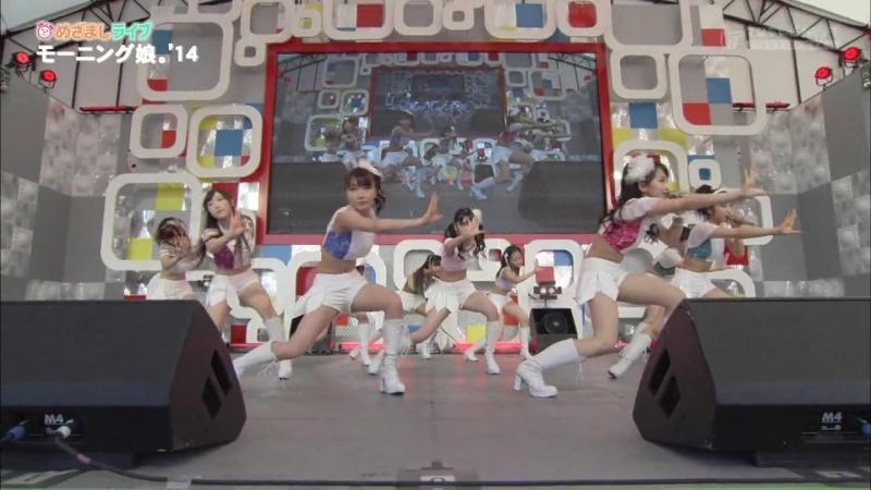 Morning Musume'14 モーニング娘。'14 Mezamashi Live 2014