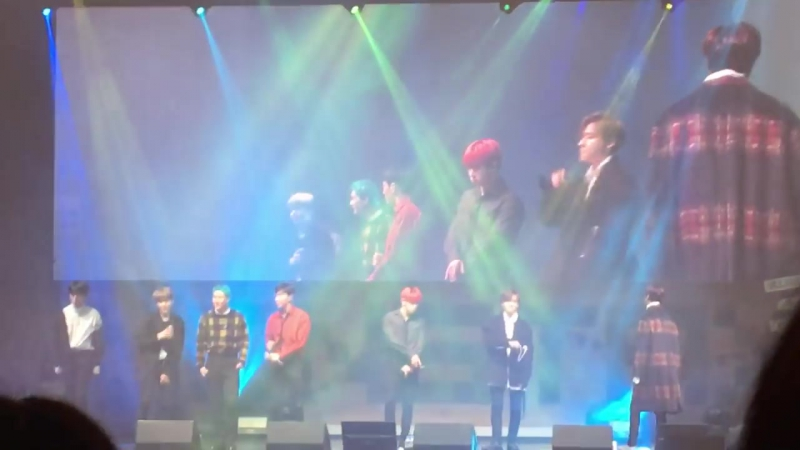 [VK][180121] MONSTA X - Miss You @ Fan-Con with Monbebe