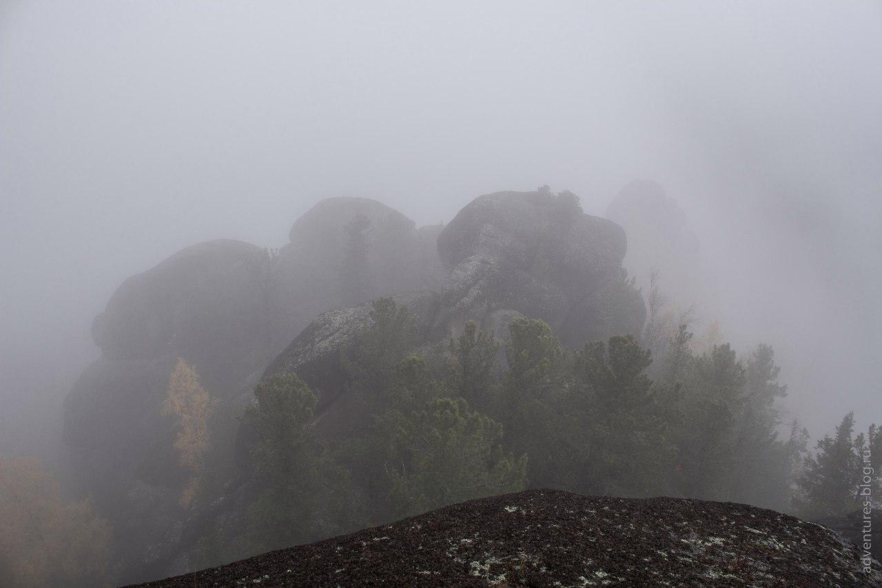 Со скалы Крепость