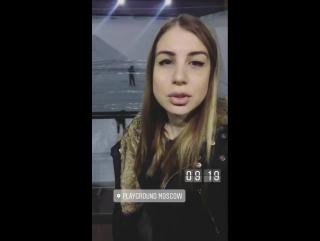 На съемках клипа Наргиз - Нелюбовь.