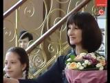Новостной репортаж с выставки Кирик Риты Ивановны, члена союза художников