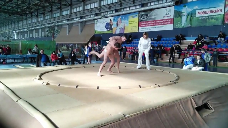 Чемпионат Украины по сумо (Давиденко) 2015 г.Луцк