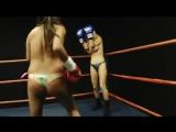 Tanya+vs+Francesca+topless+boxing+-+Big+Boobs