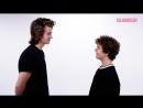 Stranger Things Stars Joe Keery & Gaten Matarazzo Test Their Friendship