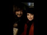 Филипп Киркоров и Аида Гарифуллина на съемках клипа