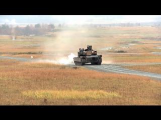 Стрельбы танков M1A2 SEP V2 на учениях Combine Resolve III