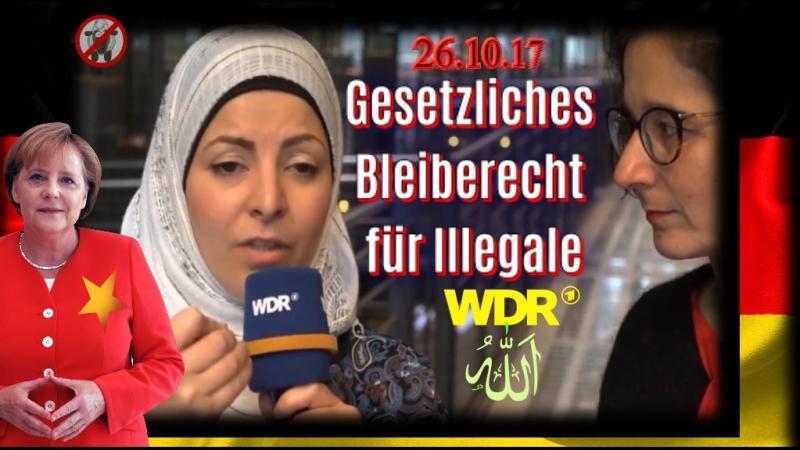 WDR verkündet auf Arabisch Bleiberecht für Illegale