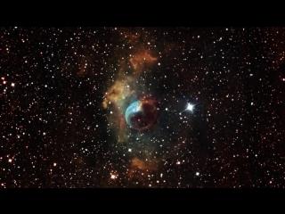 NGC 7635 Туманность Пузырь в приближении, Hubble