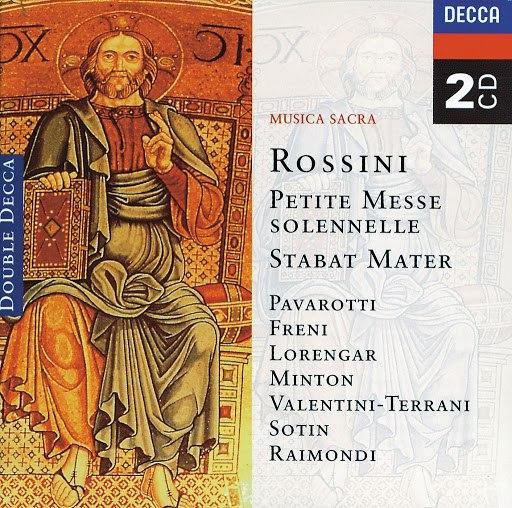 Luciano Pavarotti альбом Rossini: Petite messe solennelle; Stabat Mater