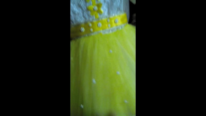Платье для внучки Маши