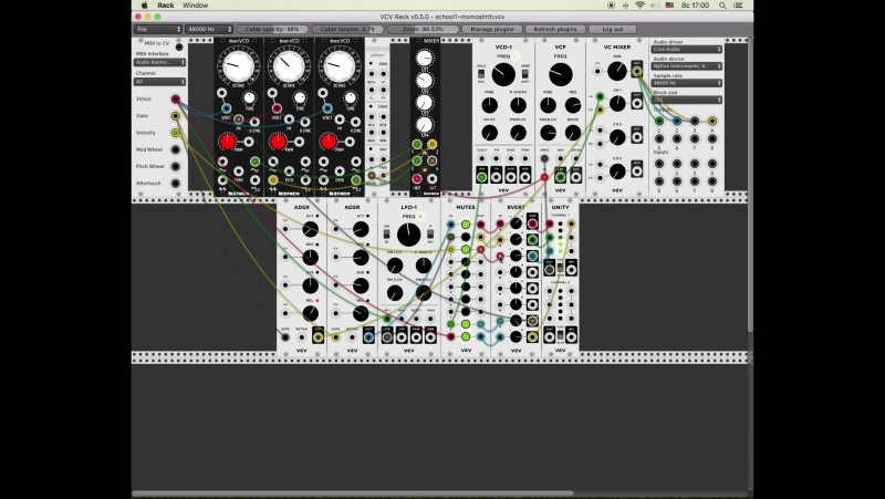 MONOPHONIC SYNTHESIZER 2 with SPEKTRAL by Information Ghetto