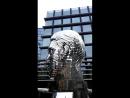 Скульптура Голова Франца Кафки Hlava Franze Kafky в Праге