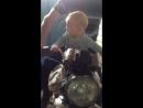 Мой мужчина учится вождению