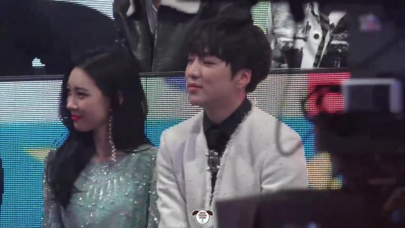 171231 Сонми и Кан Сынюн (WINNER) @ MBC Gayo Daejejeon