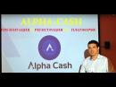Старт! Мульти платформы криптовалют Alpha-Cash
