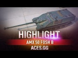 Новый барабан! AMX 50 Foch B в World of Tanks!