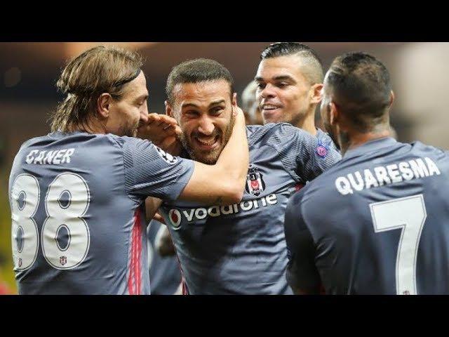 Monaco 1 - 2 Beşiktaş Şampiyonlar Ligi Maç Özeti 17 Ekim 2017 Champions League Монако Бешикташ