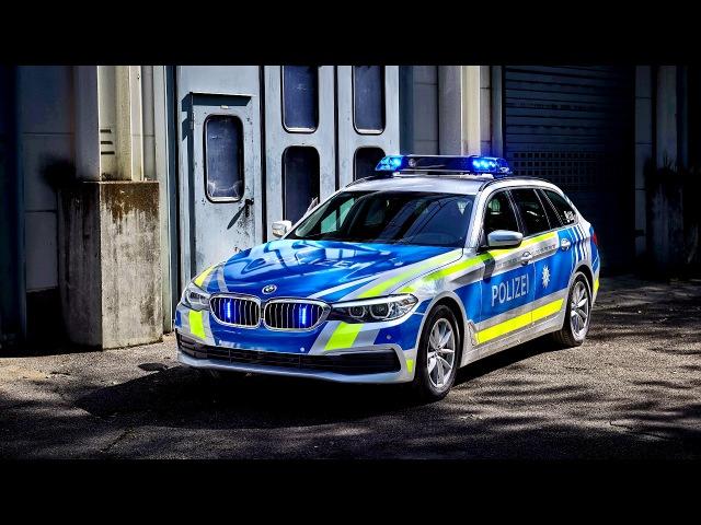 BMW 530d xDrive Touring Polizei G31 2017