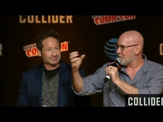 The X Files Panel   New York Comic Con 2017 Gillian Anderson David Duchovny