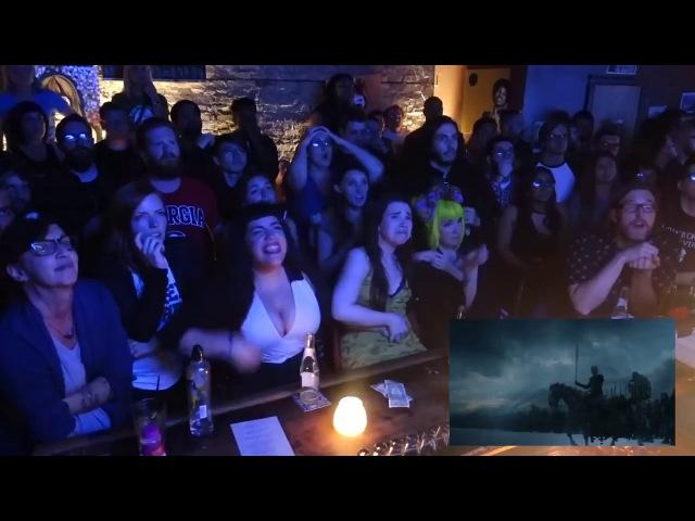 Реакция на финальную сцену - падение стены Игра Престолов 7 сезон 7 серия