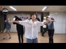 FUNNY MOMENTS в DANCE ПРАКТИКЕ BTS - Silver Spoon Baepsae