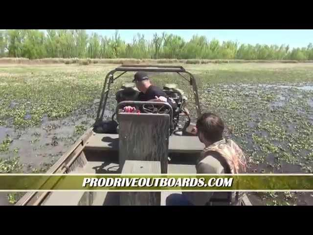 Pro Drive Outboards on Paradise Louisiana 2015